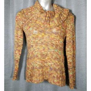 Marisa Christina Large Chunky Cowl Neck Sweater
